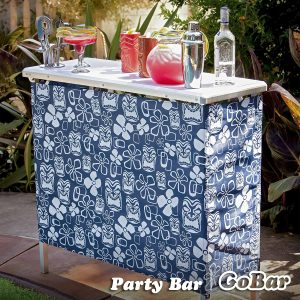 GoPong Licensed Portable High Top Party Bar